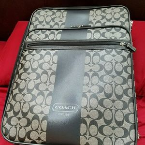 Authentic Coach carry on suitcase